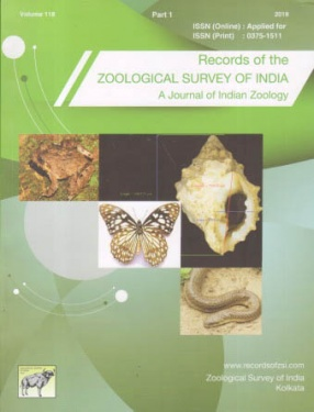 Records of the Zoological Survey of India: A Journal of Indian Zoology (Volume 118, Part 1)