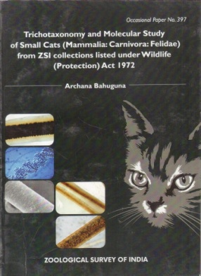 Trichotaxonomy and Molecular Study of Small Cats (Mammalia: Carnivora: Felidae) from ZSI Collections Listed Under Wildlife (Protection) Act 1972: Occasional Paper No. 397