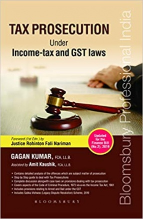Tax Prosecution Under Income-Tax and GST Laws