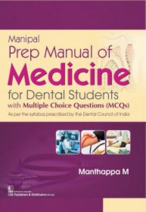 Manipal Prep Manual of Medicine For Dental Students