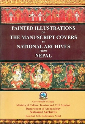Painted Illustrations of the Manuscript Covers in National Archives of Nepal
