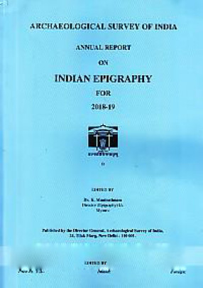 Annual Report on Indian Epigraphy For 2018-19