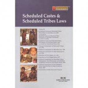 Lawmann's Scheduled Castes and Scheduled Tribes Laws: Alongwith Scheduled Castes and Scheduled Tribes (Prevention of Atrocities) Act, 1989, Scheduled Castes and Scheduled Tribes (Prevention of Atrocities) Rules, 1995, National Commission for Backward Cla