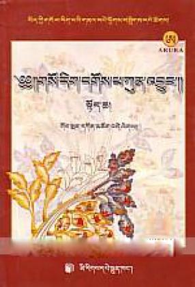 Mkhas Pa'i Man Nag Kun 'Dus Dgos Pa Kun 'Byun Zes Bya Ba Bzugs So ( In 2 Volumes)