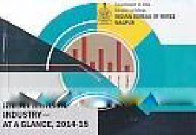 Indian Mineral Industry-At A Glance, 2014-15