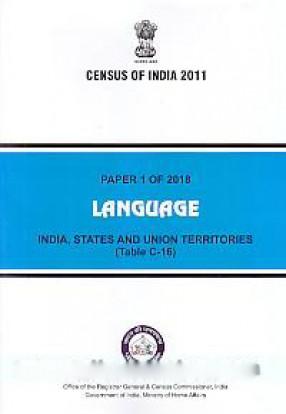 Language: India, States and Union Territories (Table C-16)