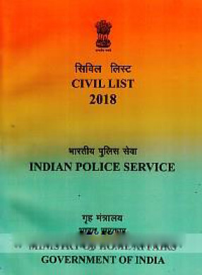 Indian Police Service Civil List (As on 1st January, 2018)