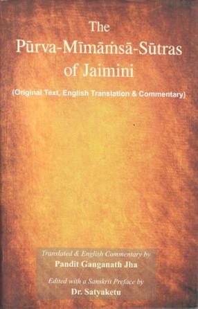 The Purva Mimamsa Sutras of Jaimini