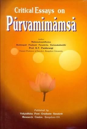 Critical Essays on Purvamimamsa