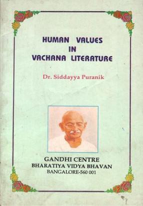 Human Values in Vachana Literature