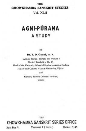 A Study of Agni-Purana