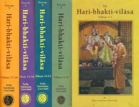 Sri Hari-Bhakti-Vilasa: Vilasa 1 to 20 (In 5 Books)