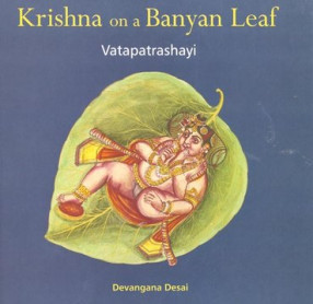 Krishna on a Banyan Leaf