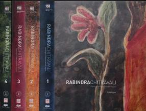 Rabindrachitravali: Paintings of Rabindranath Tagore (In 4 Volumes)
